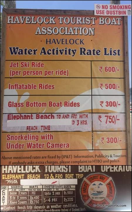 Boating rates Havelock