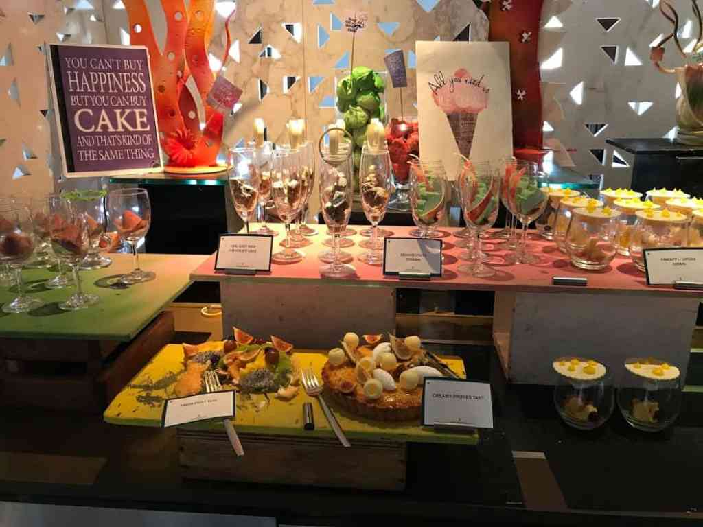 #ICSundayBrunch dessert section