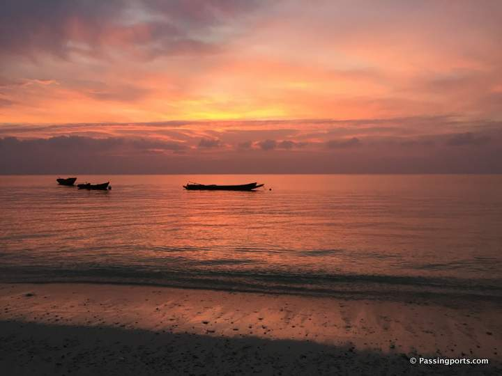 Sunrise in Andaman