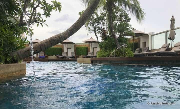 Swimming Pool at ICC Bangkok
