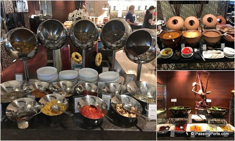 Food in Intercontinental, Bangkok