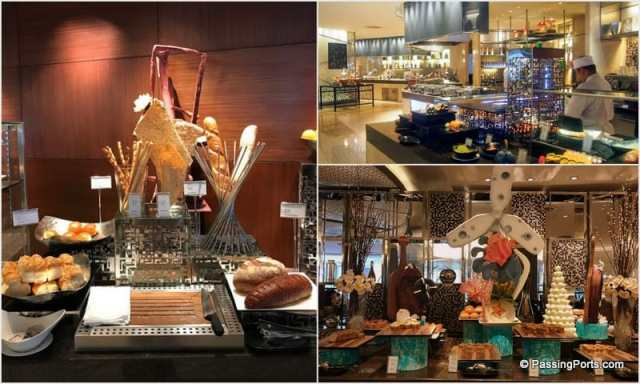 Food in Intercontinental, Bangkok