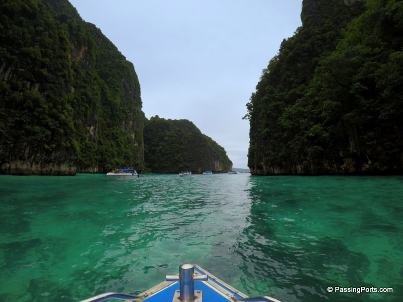 Beautiful islands near Krabi