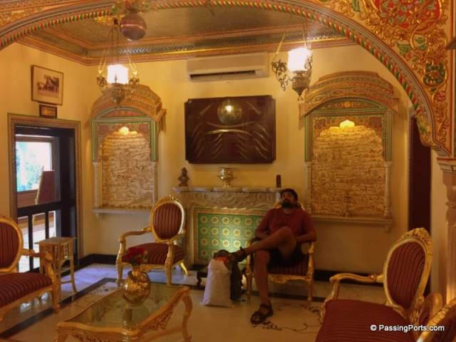 Inside Shahpura in Jaipur