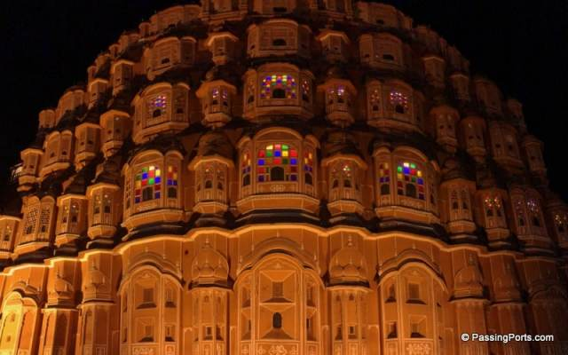 One of the most beautiful and simple Mahals in Jaipur
