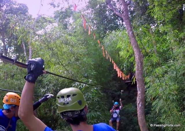 Eagle Track Ziplining in Chiang Mai