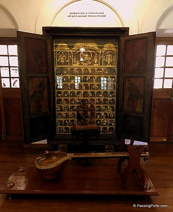 The antiques in Svatma Heritage