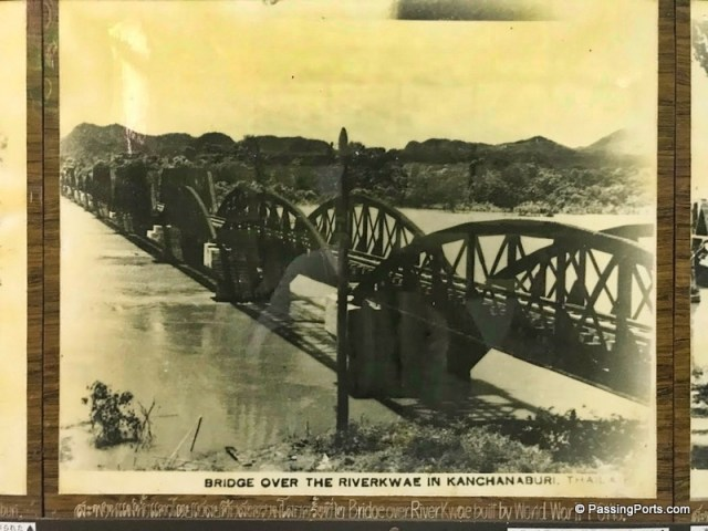 Old photo of the Bridge in the Museum