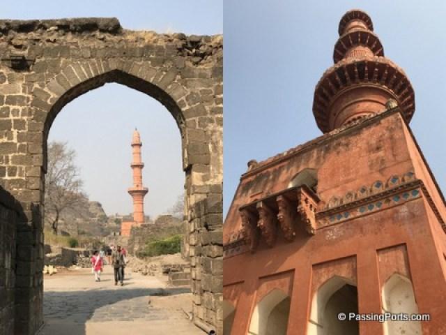 Inside the Daulatabad Fort