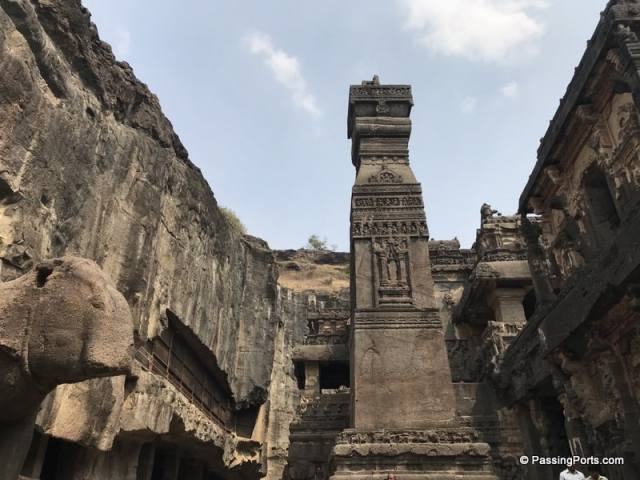 Temple in Ellora Caves