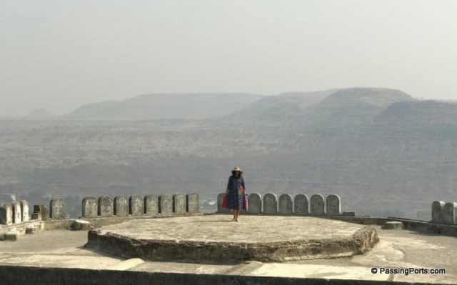Aurangabad city view from Daulatabad Fort