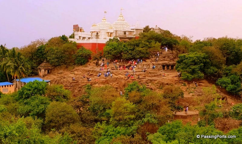 Khandagiri Jain Temple in Bhubaneswar