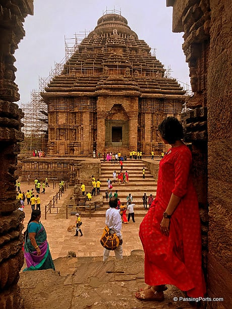 Konark Temple in Odisha