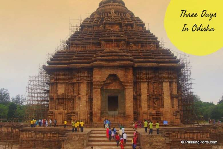 Places to see in Odisha