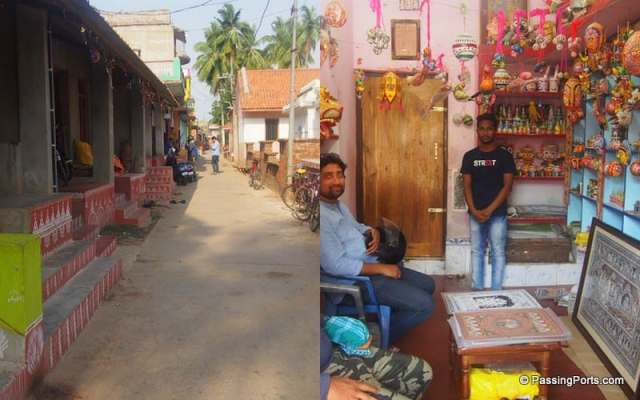 Art village in Puri