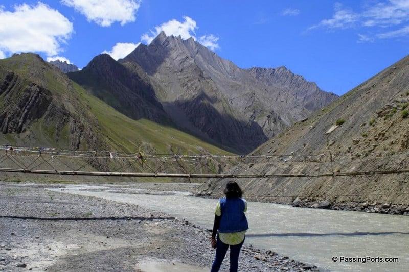 Landscape in Spiti