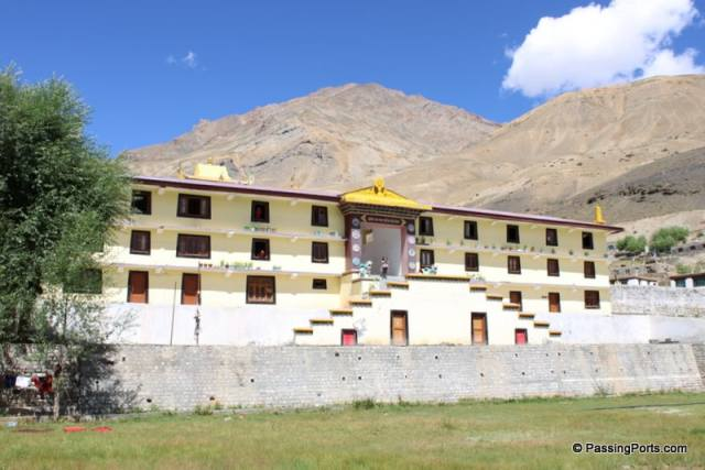 Kungri Monastery in Pin Valley