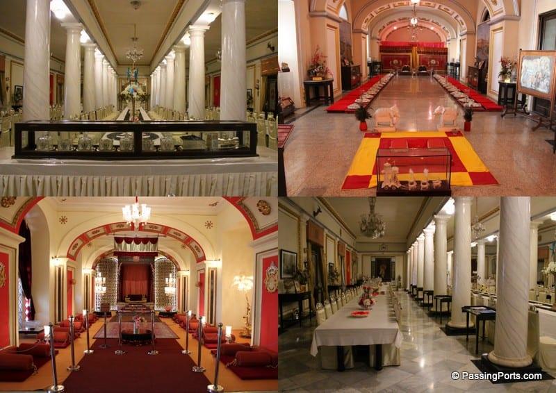 Inside Jai Vilas Palace