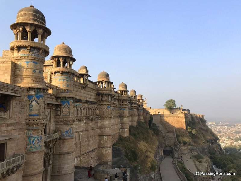 One of the biggest forts in India