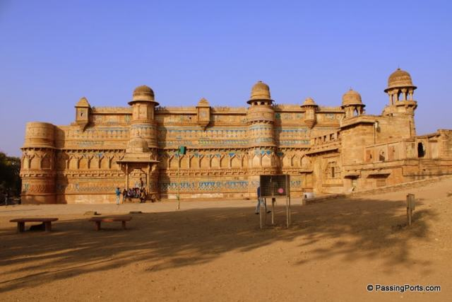 Entry to Man Singh Palace in Gwalior