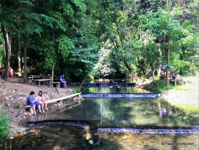 Hot spring in Pai