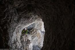 """Traversée de la grotte """"version grand"""""""