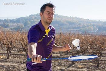 exercices de badminton jongles
