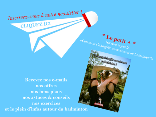newsletter passion badminton