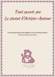 """Couverture de l'e-book : Tout savoir sur le statut d'Artiste-Auteur"""""""