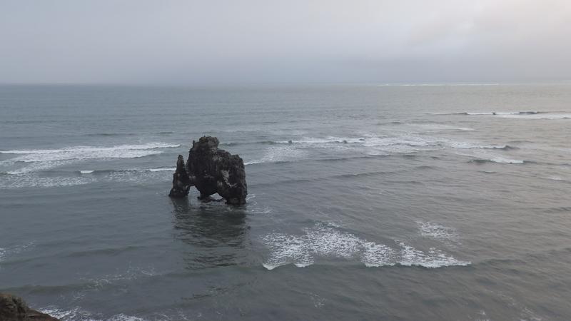 Circuit guidé en islande, rocher Hivtserkur sur la péninsule de Vatnsnes