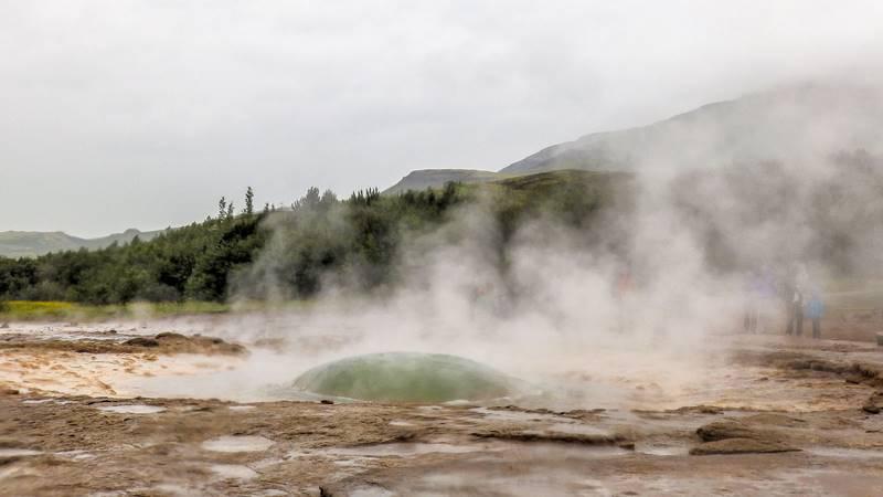 Circuit guidé Islande au printemps, découverte du Cercle d'Or Islandais, site de Geysir