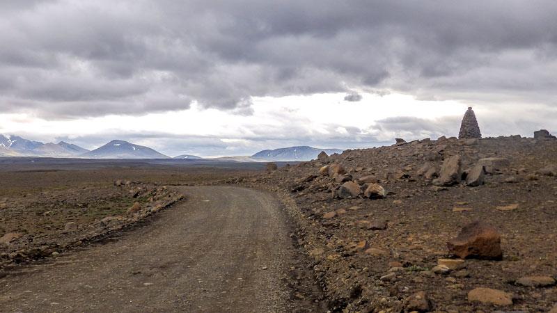 Circuit guidé Islande Highlands et Westfjords, Centre de l'islande sur la piste F35 Kjolur