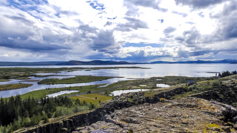 Circuit Islande dans le cercle d'or islandais, site de Pingvellir