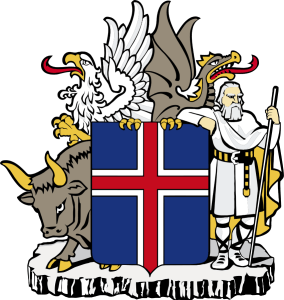 Islande contemporaine, le Blog, armoirie de l'Islande