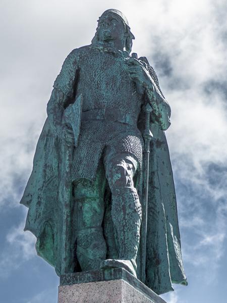Histoire de l'Islande, le blog : statue de Leifur Eiriksson