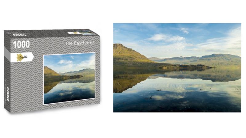 The Eastfjords, puzzle 1000 pièces, par Jean-Yves Petit
