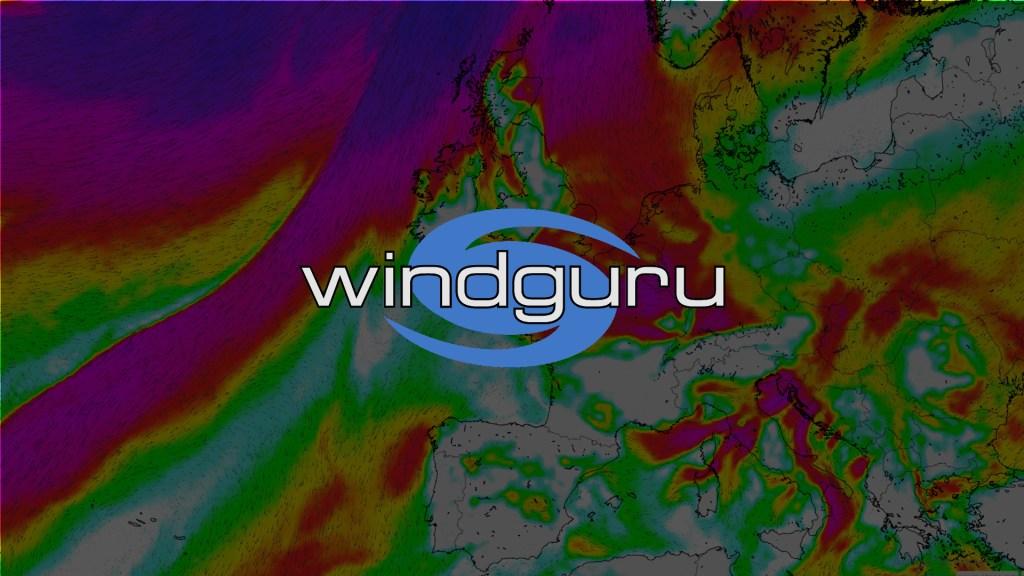 windguru, site de prévision du vent