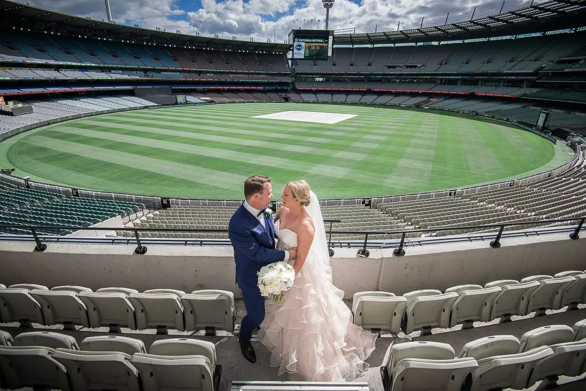 MCG wedding Jim Stynes Room