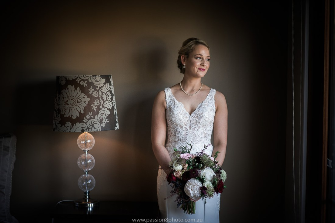 Wedding at Immerse bride