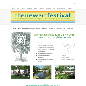 The New Art Festival Ottawa