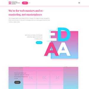 Emerging Digital Artist Award EQ Bank