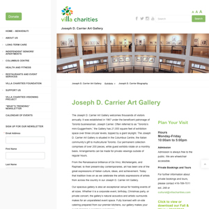 Joseph D. Carrier Gallery