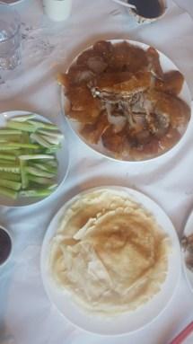 Peking duck birthday celebrations