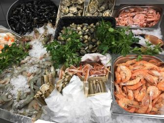 Shellfish counter 4