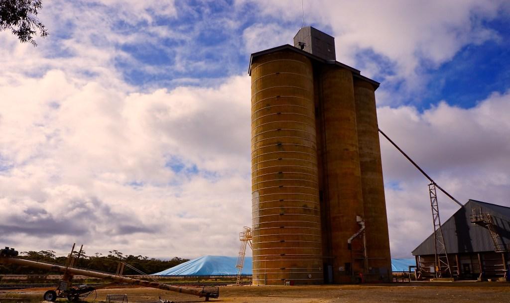 Australian wheat silos