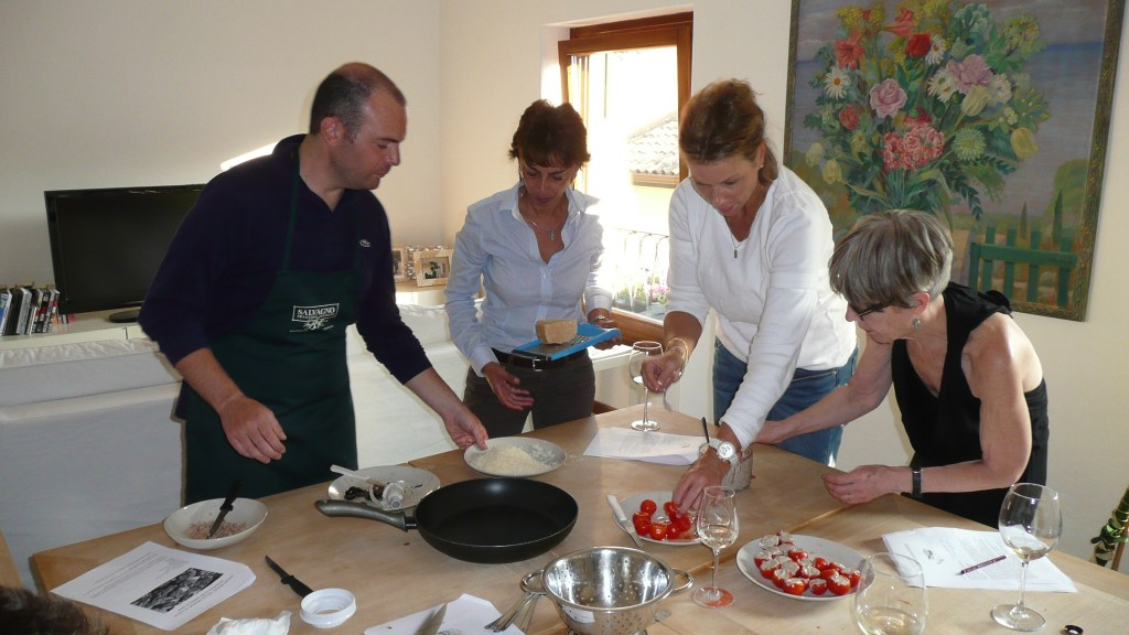 Italian cooking lessons in Verona
