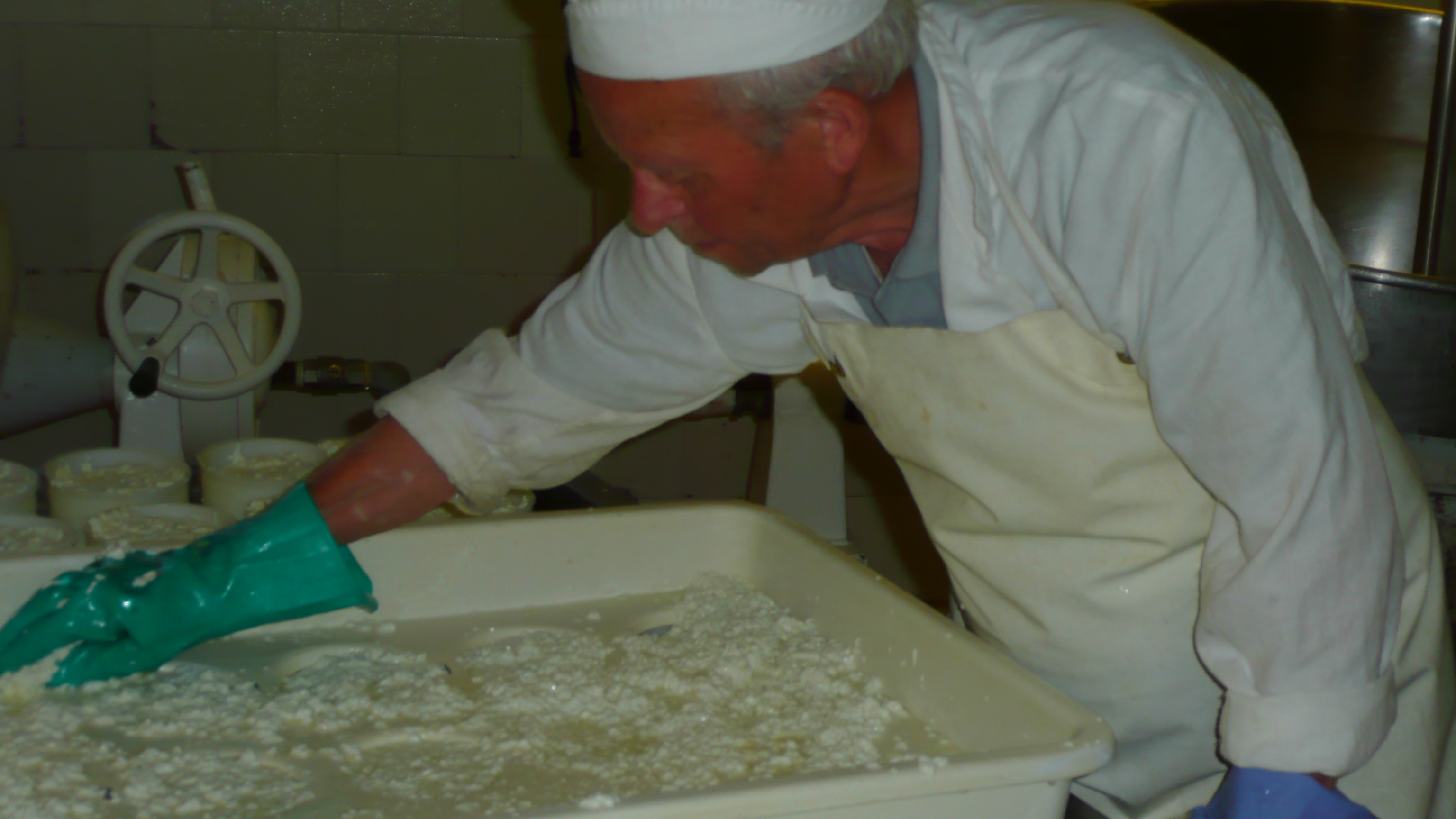 A family tradition - making ricotta in the hills of Garfagnana, near Lucca
