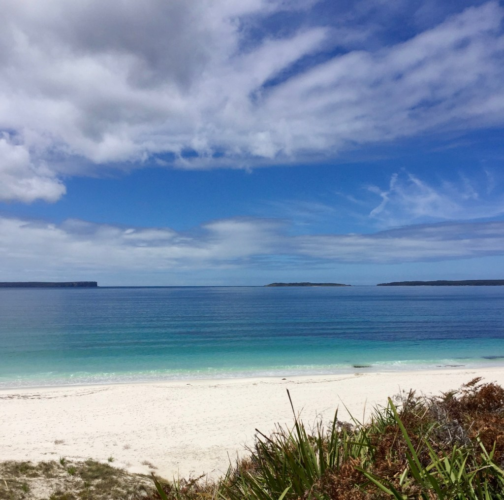 Beaches on the south coast of NSW