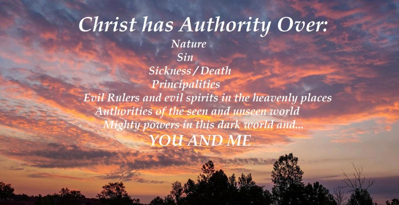 Kingdom of God - Christ has Authority