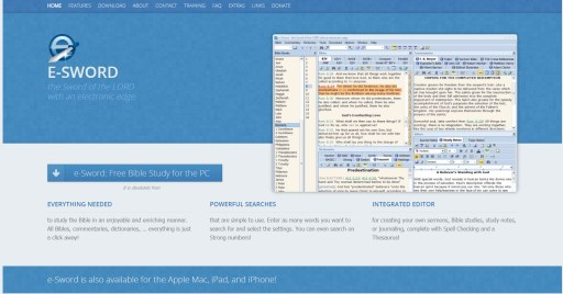 e-Sword: Free Bible Study Software